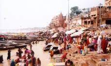 Varanasi - the shores of Ganges