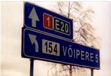 Estonian traffic signs