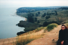 View of the Curonian Spit (Lithuania)