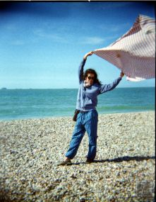 As most plastic cameras, the Holga give its best on a sunny day